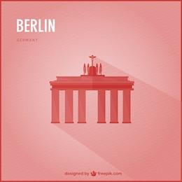 Vector fondo de Berlín