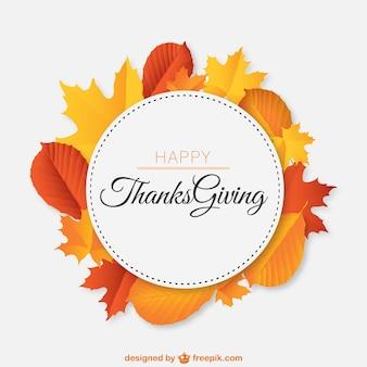 Vector gratis de feliz día de acción de gracias
