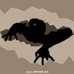 Vector ilustración de zombie