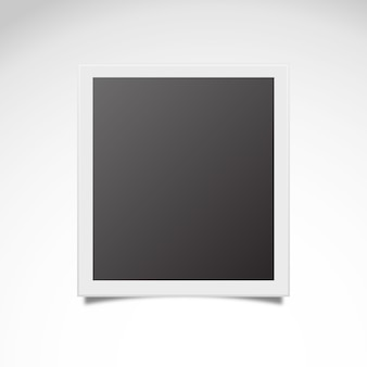 Vector instantánea de polaroid