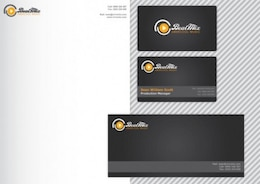 Vector kit de papelería corporativa moderna
