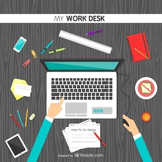 Vector mi escritorio