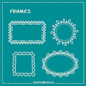 Pack de marcos minimalistas