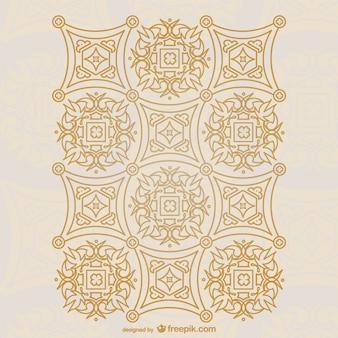 Vector de diseño ornamental