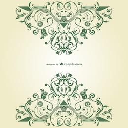 Vector ornamental vintage