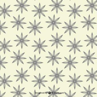 Vector patrón de cosecha de flores