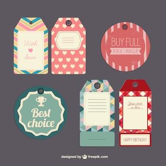 Vectores etiquetas de ofertas