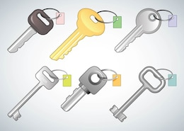 vectores claves gratis