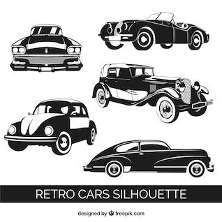 Vectores de coches retro