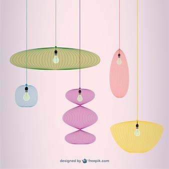 Vectores de lámparas
