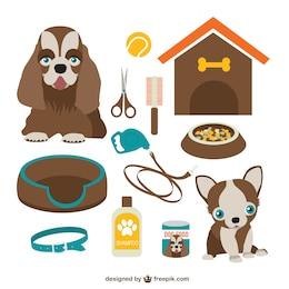 Vectores dibujos de perros