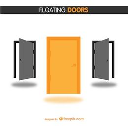 Vectores gratis de puertas