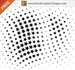 Vectoriales sin medios tonos estrella Elementos de diseño