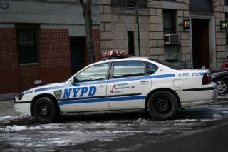 vehículo de patrulla de policía de Nueva York