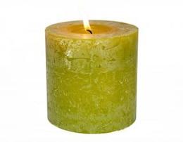 vela verde acogedora