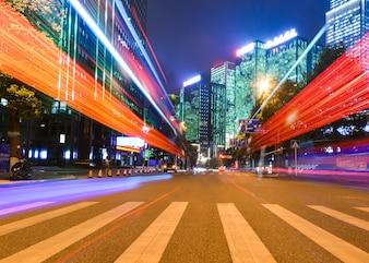 Velocidad de movimiento con City Night
