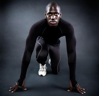 Velocidad, resistencia, músculo, adulto, disciplina
