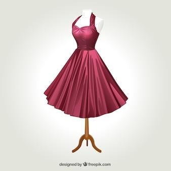Vestido retro