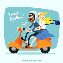 Viajar juntos!