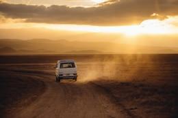 Viaje a través del desierto