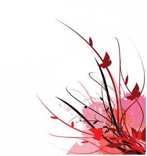 vid floral vector jardín