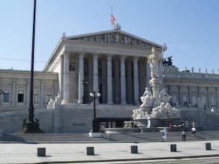 VIENA - casa del parlamento
