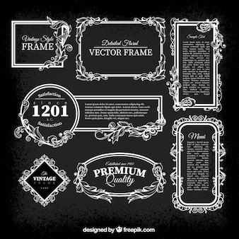 Pack de marcos vintage