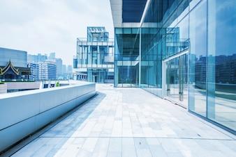 Vista exterior de un edificio