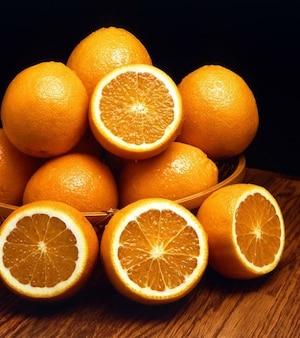 vitaminas vitamina frutas cítricas naranjas