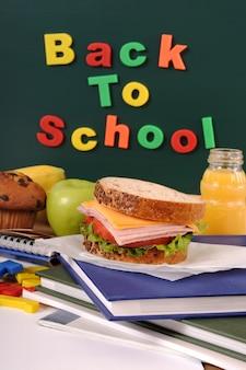 Volver a la escuela con comida para llevar