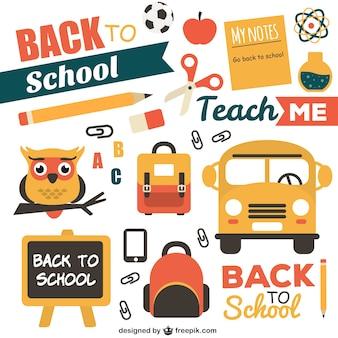 Volver al paquete de la escuela