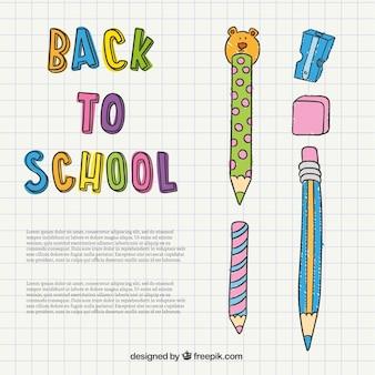 Vuelta al colegio ilustración