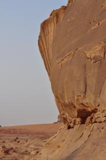 Wadi Rum, la colina