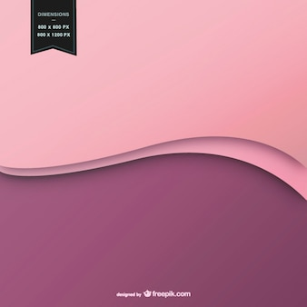 Fondo ondulado en dos colores