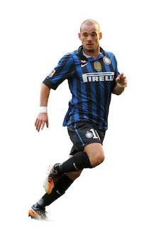 Wesley Sneijder del Inter de Milán Serie A