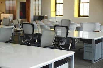 Muebles de oficina blanco