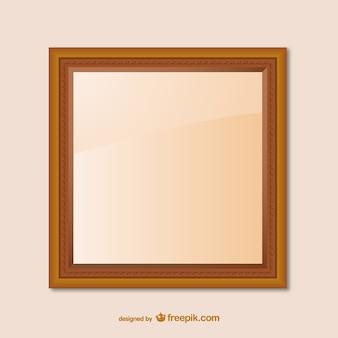 Diseño de marco de madera