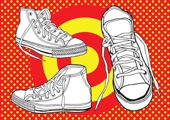 zapatos de baloncesto