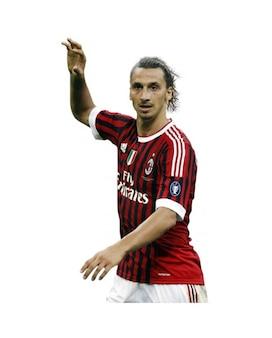 Zlatan Ibrahimovic, el AC Milan de la Serie A