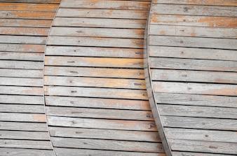 A forma di sfondo in legno