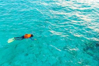 Acqua vacanze tahiti estiva chiaro