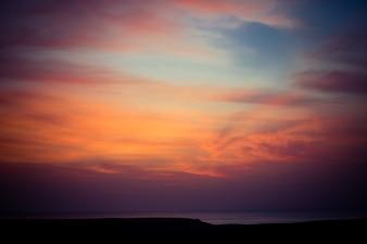 Alba sul Mar Rosso