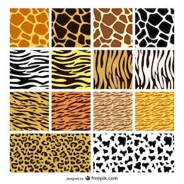 animale texture della pelle materiale di fondo vettore