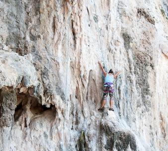 Aria aperta carattere corsa roccia estrema