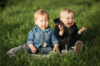 Bambini gioia armonia amicizia kindergarten