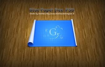 blu carta millimetrata progettazione psd
