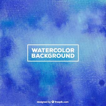 Blu sfondo acquerello