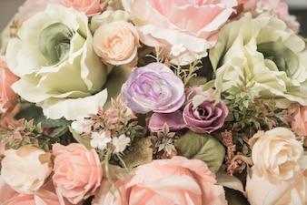 Bouquet fiori sfondo