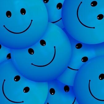 Cartone animato sorriso Samuel Smiles faccina sorridente squadra