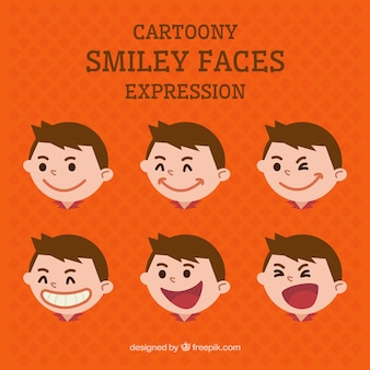 Cartoon smile